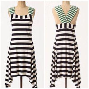 Anthropologie HWR Striped Sun Dress